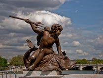 Bridżowa rzeźba Zdjęcia Royalty Free