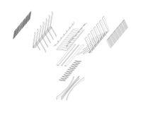 bridżowa struktura ilustracji