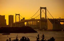 bridżowa tęcza Tokyo Obraz Stock