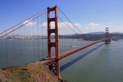 bridżowej bramy złoty wzgórzy sausalito Zdjęcie Stock