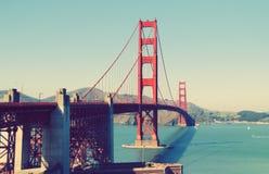 bridżowej Francisco bramy złoci San stan jednoczący Obrazy Royalty Free