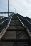 bridżowi nożni kroki obraz stock