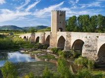 bridżowy średniowieczny zdjęcie stock