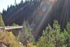 bridżowy światło zdjęcia stock