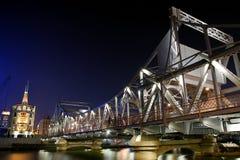 bridżowy żelazo zdjęcia stock