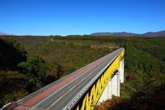 bridżowy błękit niebo Fotografia Stock