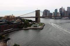bridżowy Brooklyn nowy York obrazy royalty free