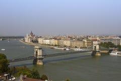 bridżowy Budapest łańcuszkowy Europe Hungary Obraz Royalty Free