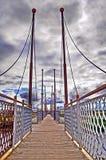 bridżowy chmurny nożny niebo Fotografia Royalty Free