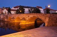 bridżowy czeski otava nad pisek republiki rzeką fotografia stock
