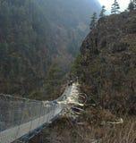 bridżowy himalajski obrazy stock