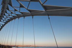 bridżowy humber Toronto widok zdjęcia royalty free