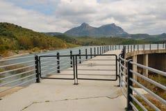 bridżowy jeziorny Zahara Obraz Stock
