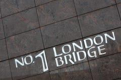 bridżowy London Obraz Royalty Free