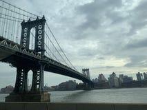 bridżowy miasto Manhattan nowy York fotografia royalty free