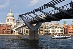 bridżowy milenium Fotografia Royalty Free