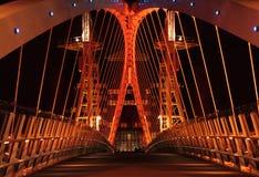 bridżowy milenium quays salford zdjęcie royalty free