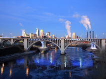 bridżowy Minneapolis Zdjęcie Royalty Free