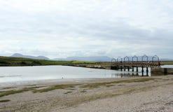 bridżowy okręg administracyjny Ireland Mayo mulranny fotografia stock