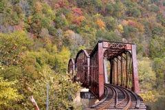 bridżowy pociąg obraz stock