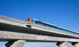 bridżowy pociąg fotografia stock