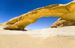 bridżowy pustyni skały rumu wadi Zdjęcie Stock