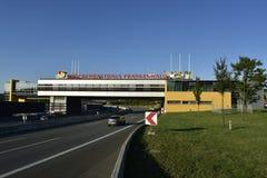 Bridżowy Restauracyjny Frankenwald, Niemcy Zdjęcie Stock