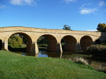 bridżowy Richmond Tasmania obraz royalty free