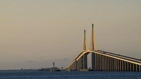 bridżowy skyway światło słoneczne Zdjęcia Stock