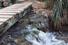 bridżowy strumień Obrazy Stock