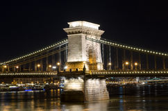 bridżowy target2573_0_ Budapest łańcuszkowy Hungary hungary target1805_0_ Obraz Royalty Free