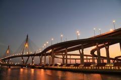 bridżowy Thailand obraz stock