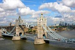 bridżowy wierza Zdjęcia Royalty Free