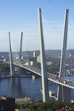 Bridżowy Złoty róg Fotografia Royalty Free