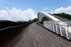 bridżowa henderson Singapore fala Obraz Royalty Free