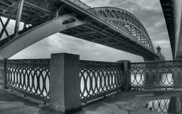 bridżowa linia kolejowa Zdjęcie Royalty Free