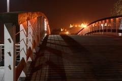 bridżowa noc Obrazy Royalty Free