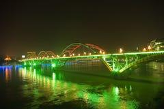 bridżowa noc Zdjęcia Stock