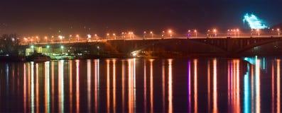 bridżowa noc Zdjęcie Royalty Free