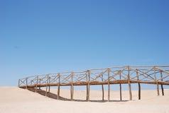 bridżowa pustynia Fotografia Stock