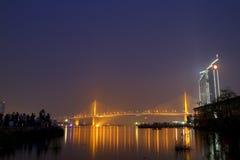 bridżowa rzeka Zdjęcia Royalty Free