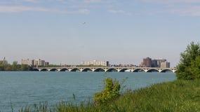 bridżowa rzeka Obrazy Royalty Free