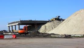 bridżowej budowy droga Zdjęcia Royalty Free