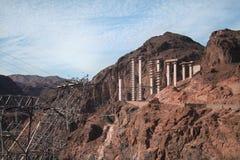 bridżowej budowy pustynia Zdjęcie Royalty Free
