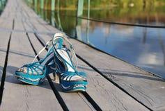 bridżowi buty Obrazy Stock
