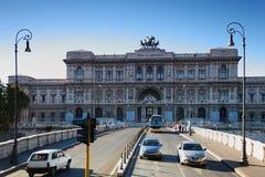 bridżowi samochody Cassazione Corte Di Suprema Obrazy Royalty Free