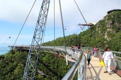 bridżowy 03 niebo Langkawi Zdjęcie Royalty Free