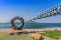 bridżowy Akashi kaikyo Fotografia Royalty Free