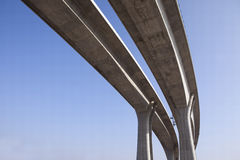 bridżowy beton fotografia royalty free