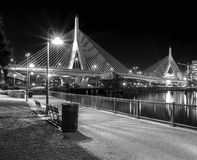 bridżowy bostonu zakim Obrazy Royalty Free